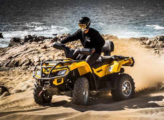 Cabo Atv Migrino Beach And Desert Tour